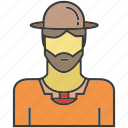 avatar, face, farmer, people, person, profile icon
