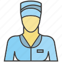avatar, face, nurse, people, person, profile, woman icon