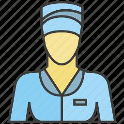 avatar, face, nurse, people, person, profile, woman icon