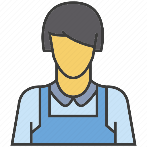 avatar, face, people, person, profile, waitress, woman icon