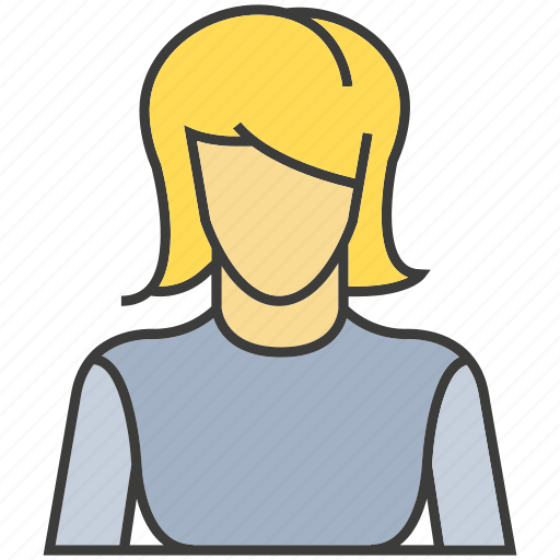 avatar, face, people, person, profile, woman icon