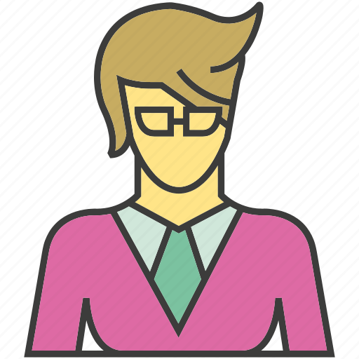 avatar, face, office, people, person, profile, woman icon