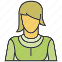 avatar, face, people, person, profile, woman