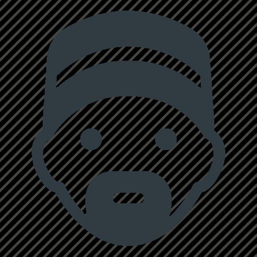 avatar, criminal, head, people, robber icon