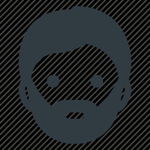 Head, hypster, people, avatar, man, male, beard icon - Download