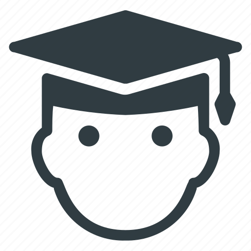 Avatar, graduate, graduation, hat, head, people, stydent icon - Download on Iconfinder