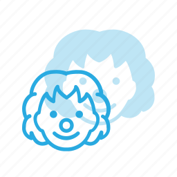 avatar, circus, clow, head, people icon
