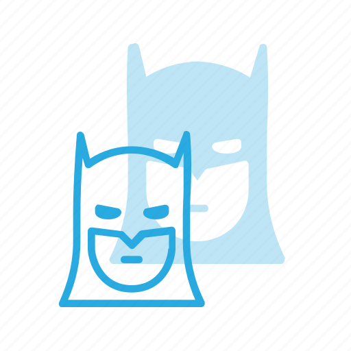 avatar, bat, batman, comic, head, man, people icon