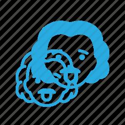 albert, avatar, einstein, head, people, scientist icon