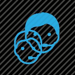 avatar, dispatcher, head, male, people icon