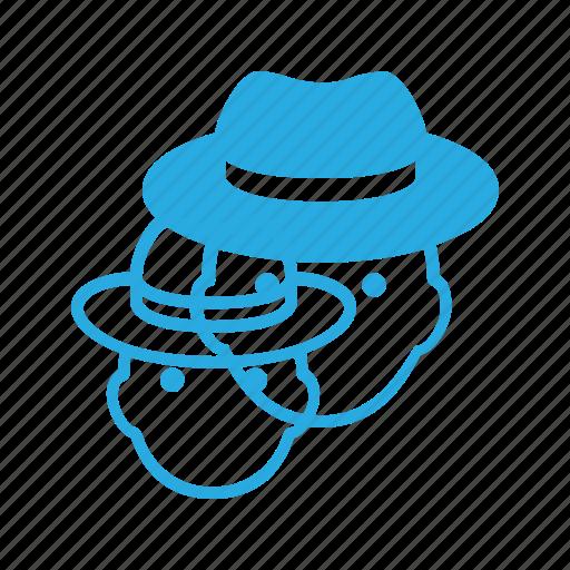 avatar, hat, head, male, man, people icon