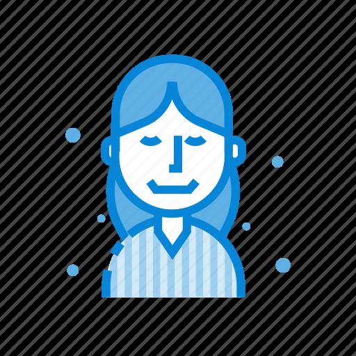 avatar, business, female, profile, user, woman icon