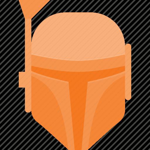 avatar, boba, fet, head, people, star, wars icon
