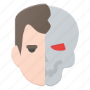arnold, avatar, head, people, robot, sweizeneger, terminator icon