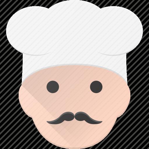 avatar, cook, head, people, restaurant, shefe icon