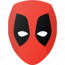 avatar, deadpool, head, hero, marvel, people icon