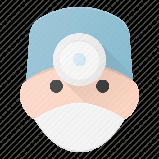 avatar, doctor, head, medic, people, surgery icon