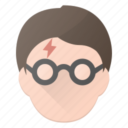 avatar, harry, head, mage, magic, people, potter icon