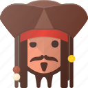 avatar, captain, head, jack, people, pirate, sparrow icon