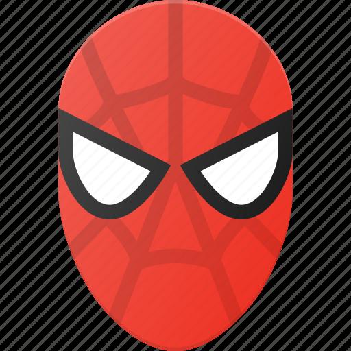 avatar, head, man, marvel, people, spider, spiderman icon