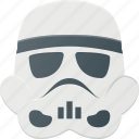 avatar, head, people, star, storm, trooper, wars icon