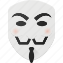 anonymus, avatar, head, people, v, vendetta icon
