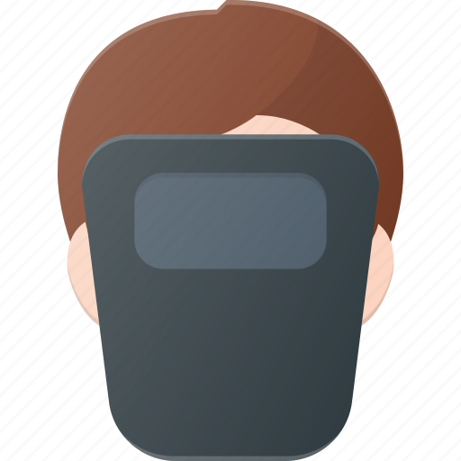 avatar, head, mask, people, protect, welder, worker icon
