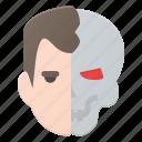 arnold, avatar, head, people, robot, sweizeneger, terminator
