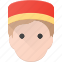 avatar, bell, bellboy, boy, head, hotel, people