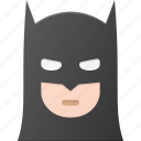 avatar, bat, batman, comic, head, man, people