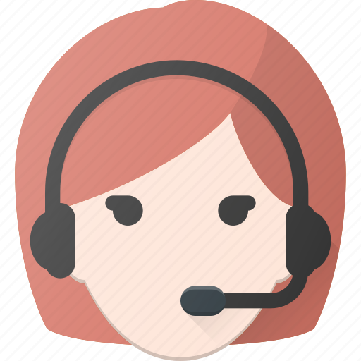 Avatar, dispatcher, female, head, people icon - Download on Iconfinder