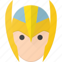 asgardian, avatar, head, marvel, people, thor