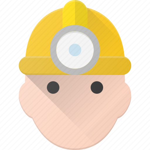 Avatar, head, miner, people icon - Download on Iconfinder