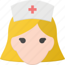 avatar, head, medical, nurse, people icon