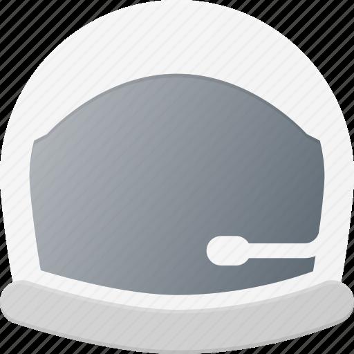 astronaut, avatar, head, helmet, people, space icon