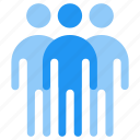 group, man, people, stick, stickman, team icon
