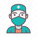 ambulance, doctor, healthcare, hospital, medicine, nurse, profession icon