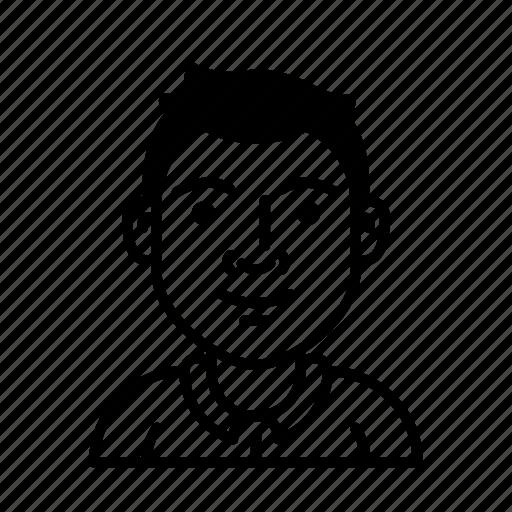 account, avatar, education, person, profession, profile, student icon