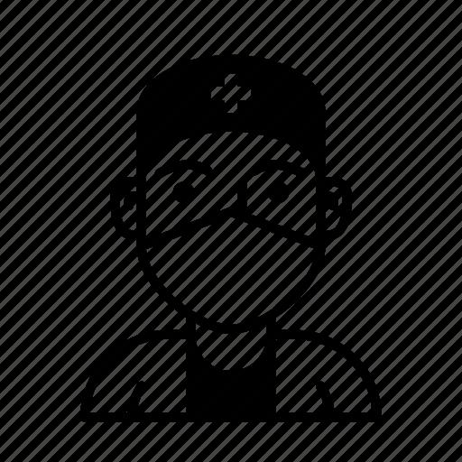 avatar, doctor, healthcare, hospital, medicine, person, profession icon