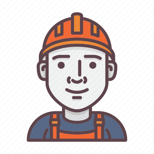 avatar, builder, building, construction, engineer, profession, worker icon