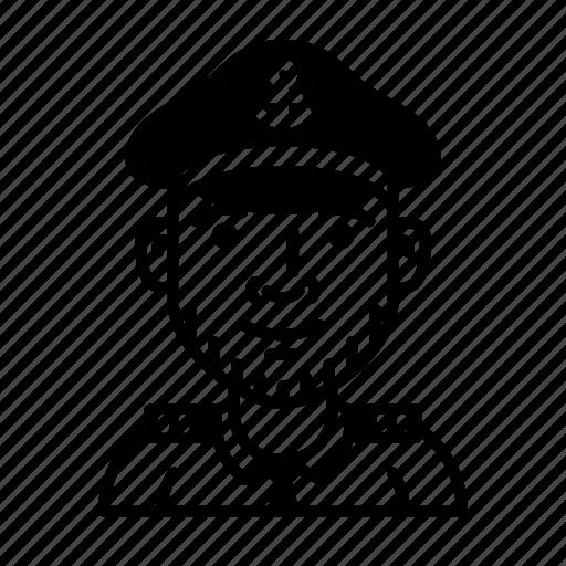 boat, captain, character, profession, sailing, sailor, ship icon