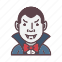avatar, dracula, halloween, horror, monster, profession, vampire icon