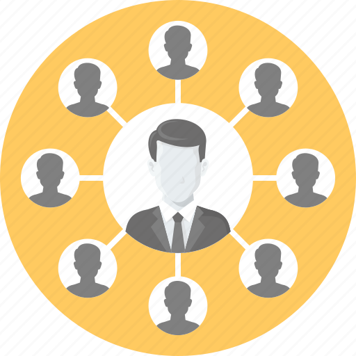 business, community, connection, network, people, social icon