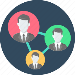 business, communication, community network, connection, network, relations icon