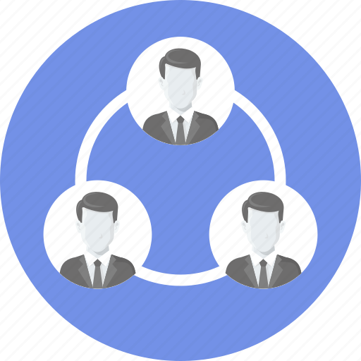 connection, group, network, people, social, team icon