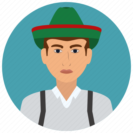 austria, avatar, culture, man, people, user icon