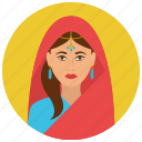 arabian, avatar, culture, people, user, woman icon
