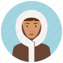 avatar, culture, eskimo, people, user, woman icon