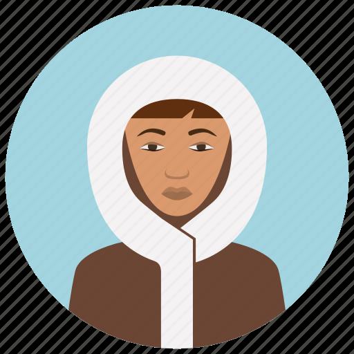 avatar, culture, eskimo, people, user, woman icon