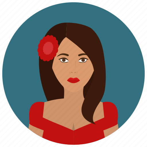 avatar, culture, mexican, people, user, woman icon